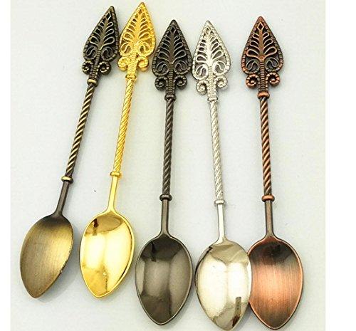 W&P Retro alloy coffee scoop of ice cream spoon/Marmalade spoon Dessert spoon (Marmalade Spoon)