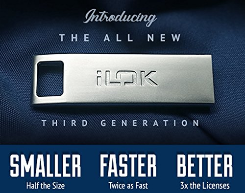 PACE 99007120900 iLok3 USB Key Software Authorization Device Generation Software