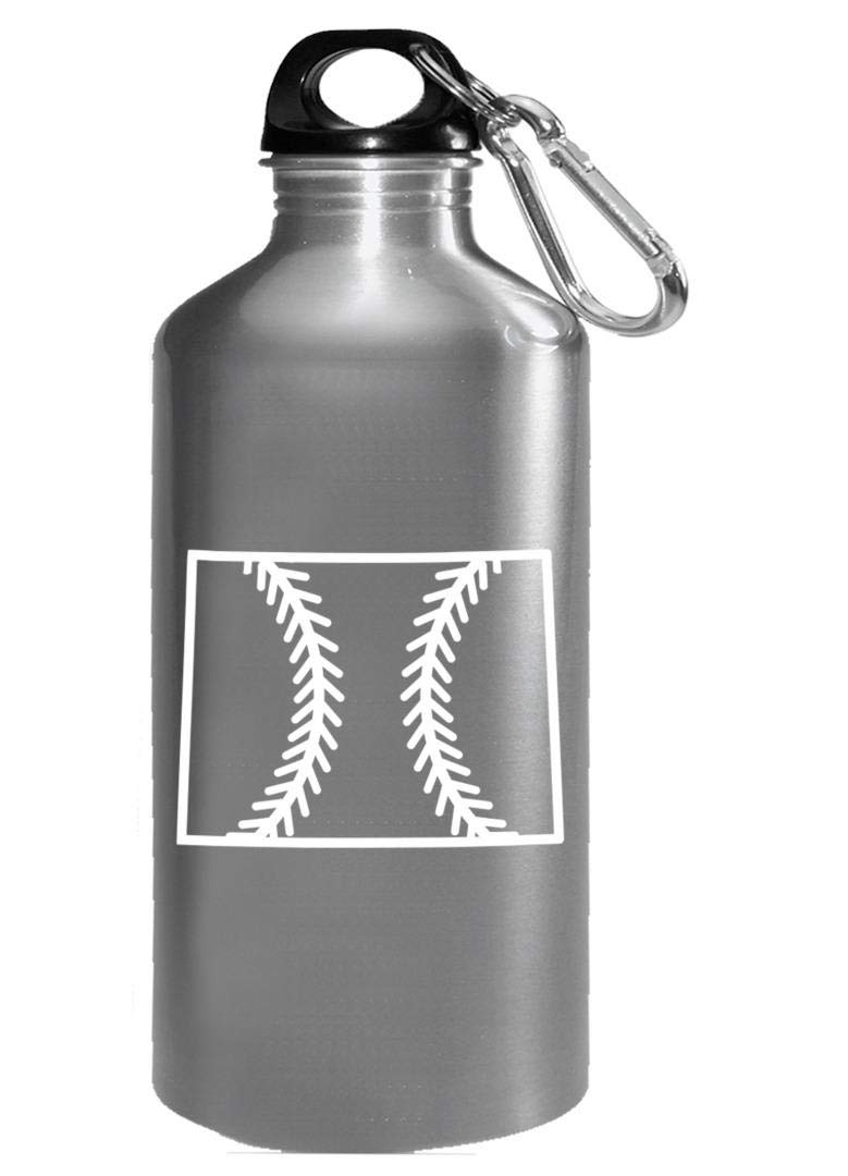 Wyoming Baseball USA State Pride - Water Bottle