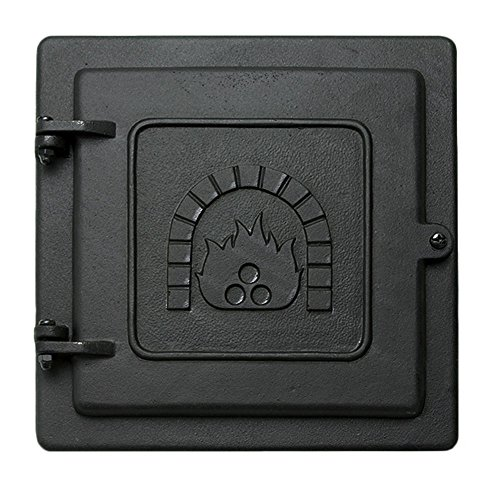 Minuteman International Cast Iron Clean-Out Door, 8 by 8-Inch ()