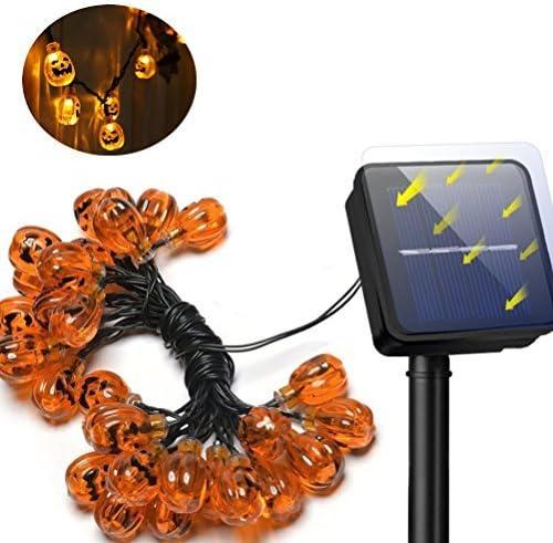 YBB Solar Pumpkin String Light
