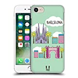 Head Case Designs Barcelona Doodle Cities 4 Hard Back Case for Apple iPhone 5 / 5s / SE