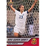 2011 Upper Deck MLS Soccer #198 Alex Morgan RC Rookie Card Western New York Flash WPS Super Draft Official Major League Soccer Trading Card From UD