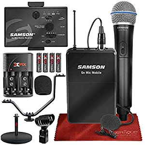 Samson Go Mic Mobile Professional Digital Wir...