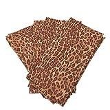 Chelsea Home Set of 4 Animal Print Cloth Napkins