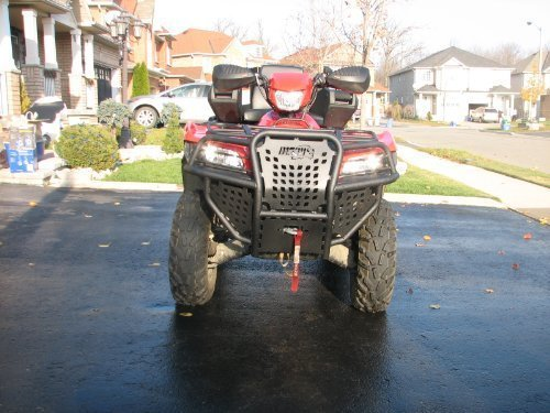 Suzuki King Quad Hunter Series Front Bumper •	Fitment: 2005-2012 Suzuki King Quad 750, 2005-2008 Suzuki King Quad 700, 2009-2012 Suzuki King Quad 500, 2007-2012 Suzuki King Quad ()