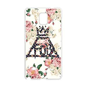 DIY FOB Fall Out Boy Custom Case Shell Cover for Samsung Galaxy Note4 (Laser Technology)