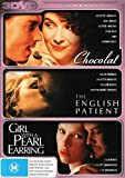 Chocolat + The English Patient + Girl With A Pearl Earring [3 Disc Set] [NON-USA Format / PAL / Region 4 Import - Australia]