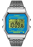 Timex #TW2P65200 Women's Indiglo Stainless Steel Blue Dial Digital Watch