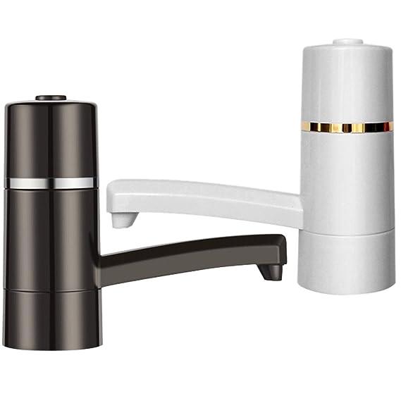 Balai eléctrico bomba de agua automática USB, Inalámbrico portátil dispensador de agua embotellada bomba de agua eléctrico 15 W toma de agua rápida (color ...