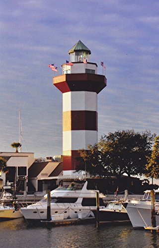 Head Postcard (LIGHTHOUSES12 - HARBOUR TOWN LIGHTHOUSE HILTON HEAD ISLAND, SOUTH CAROLINA - - Another Beautiful LIGHTHOUSE POSTCARD from HibiscusExpress)