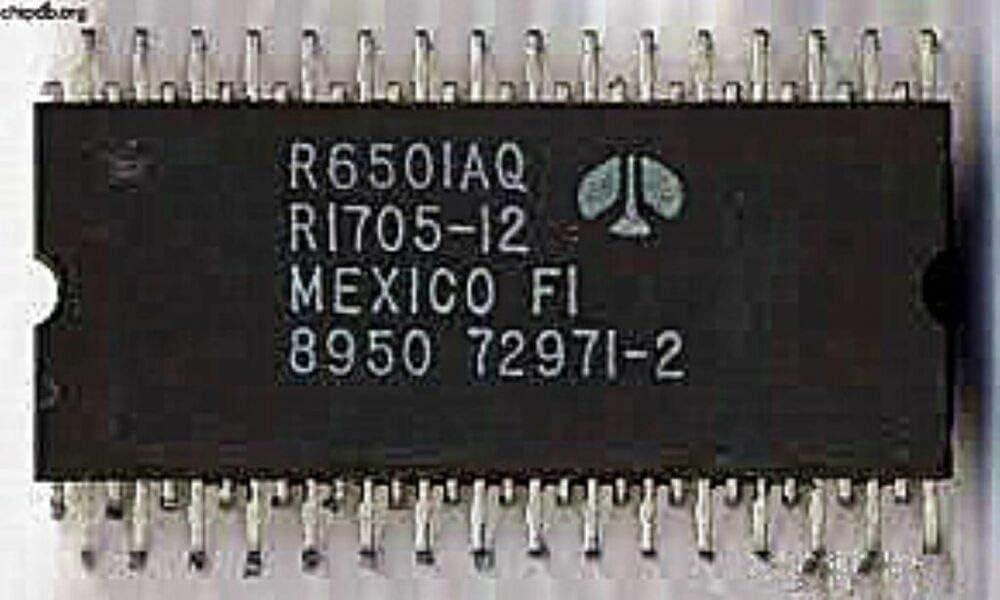 Rockwell R6501AQ DIP-64 ONE CHIP MICROPROCESSOR