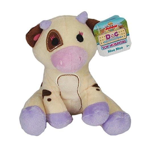 (Doc McStuffins Disney Toy Hospital Moo Moo 5-Inch Plush)