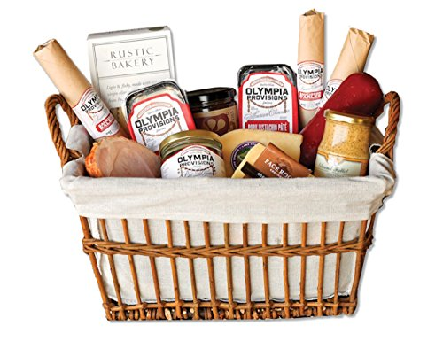 Olympia Provisions Grande Charcuterie Basket Gift Set