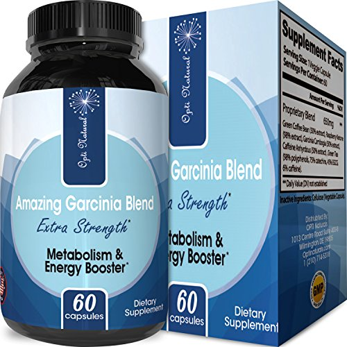 Best Garcinia Blend with Raspberry Ketones and Green Coffee