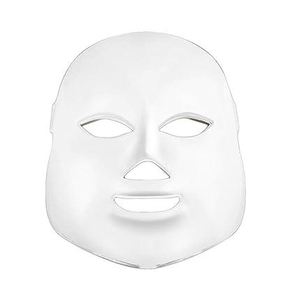 Máscara facial LED coreana fotodinámica para uso doméstico, instrumento de belleza, antiacné, rejuvenecedor