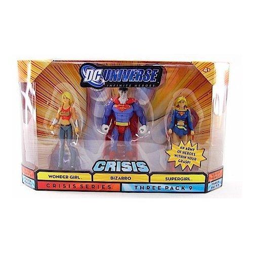DC Universise Infinite Heroes with Bizarro, Wonder Girl, Supergirl Figures