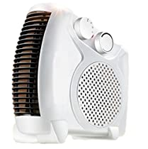 2000 Watts Fan Heater with 2 Heat Settings & Cool Blow, 2kw - Upright & Flat