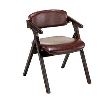 HFY-Y Sillas de Madera Plegables, sillas de Comedor cómodas ...