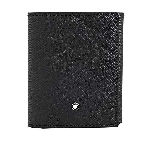 Montblanc Sartorial Trifold Business Card Holder - Black