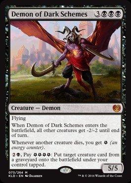 Magic: the Gathering - Demon of Dark Schemes (073/264) - Kaladesh