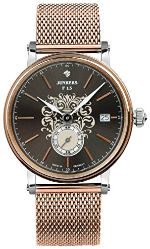 Junkers Expedition South America Lady Quartz Watch, Anthracite, 36 mm, 6539M-2