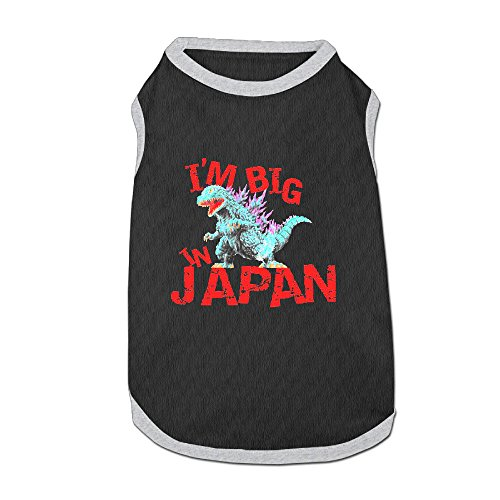 Godzilla Big In Japan Latest Puppy Dog Clothes Sweaters Shirt Hoodie Coats