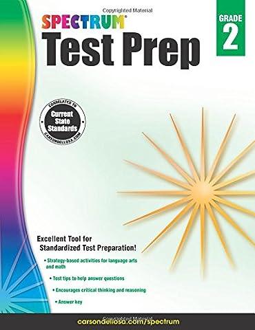 Spectrum Test Prep, Grade 2 (Spectrum Grade 5 Test Prep)