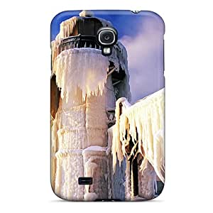 Hot New North Pier Outer Lighthouse Case Cover For Galaxy S4 With Perfect Design