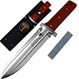 Hori Hori Knife By Oakridge Garden Tools | Japanese Style Stainless Steel Garden Knife With Serrated Edge And Nylon Sheath A Perfect Hand Weeder