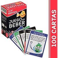 Glop Erotico - Juegos para Beber Erotico - Juegos de Beber con cartas - Juegos para Toma 100 Cartas