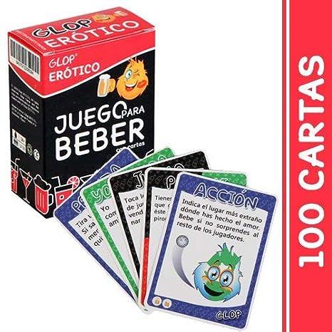 Juego de Beber con 100 Cartas Diferentes Glop Despedida de Soltera