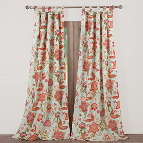 (Barefoot Bungalow Eva Honeydew Window Panel Pair)