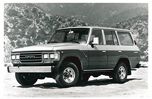1988 Toyota Land Cruiser Truck Photo Poster