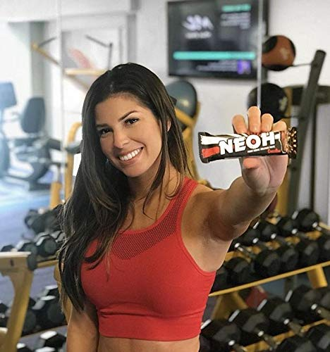 NEOH Low Carb Protein/Candy Bar - Keto, Low Sugar (1g) - Chocolate Crunch (2 Packs of 12) by NEOH (Image #3)