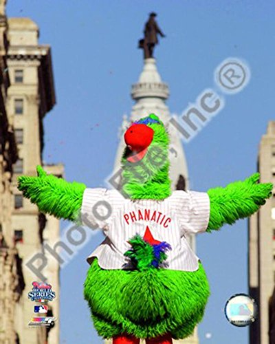 The Philly Phanatic 2008 World Series Parade Photo 24 x (Philly Phanatic World Series)