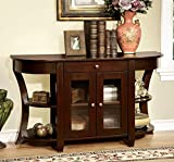 Furniture of America Cartwright Transitional Console Table, Dark Cherry Review