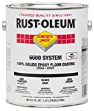 Rust-Oleum 282112 Navy Gray 6600 System Concrete Saver Less than 100 VOC Heavy Duty Maintenance Floor Coating, 80 fl. oz. Can (Pack of 2)