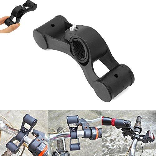 Bike Holder - Bikight Bicycle Headlight Speedometer Handlebar V-Shaped Bar Stand Support Holder - BikeBracket Pedal Out - 1PCs