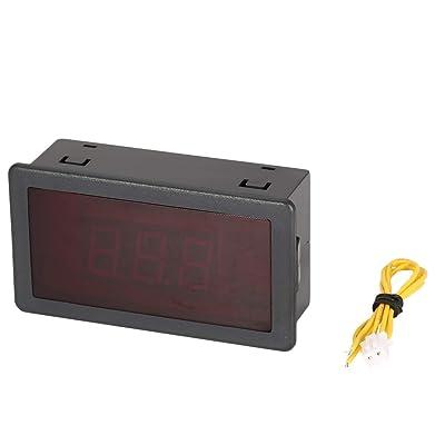 5pcs 70-480v 2 fils fil panneau d'affichage à voltmètre voltmètre électrique voltmètre testeur pour voiture voiture moto batterie Bricolage