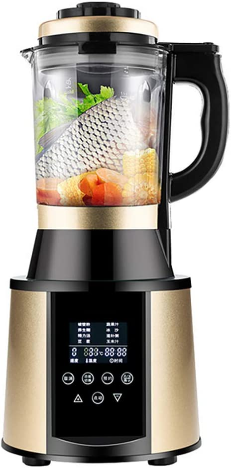 JXWWNZ Blender, Smoothie Blender 1500W for Ice Crushing with 9-Speed (48000 r/min) and 8-Programs Setting, 63 OZ Glass Jar & 8 Titanium Alloy Blades & Stainless Steel Housing Base.