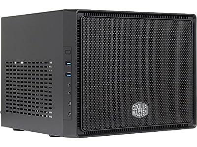 6X-Core Mini ITX Desktop Computer Media Station Intel Core i7 8700K 3.7Ghz 8Gb DDR4 500Gb NVMe SSD 550W PSU Dual GbE LAN, Dual Band WiFi