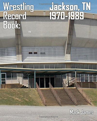 Wrestling Record Book: Jackson, TN 1970-1989, used for sale  Delivered anywhere in USA