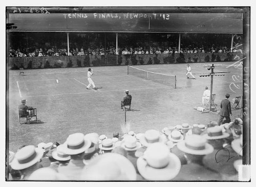 Price comparison product image 1913 Photo Tennis finals - Newport,  '13 the United States National Championship tennis finals at Newport Casino,  Newport,  Rhode Island. (Source: Flickr Commons project