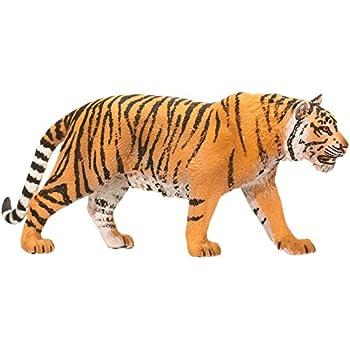 amazon com schleich tiger toy figure schleich toys games