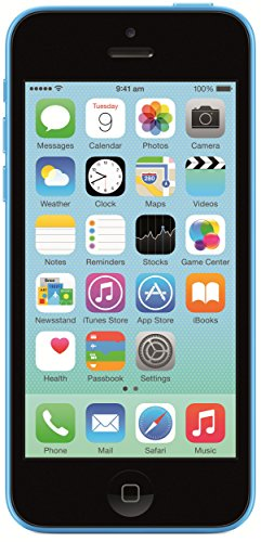 Cheap Unlocked Cell Phones Apple iPhone 5c Factory Unlocked Cellphone, 8GB, Blue