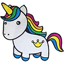 Rainbow Unicorn Sew On Embroidered Patch