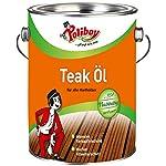 Poliboy - Olio per Teak 2,5 litri - Made in Germany 51HTqpBpp1L. SS150
