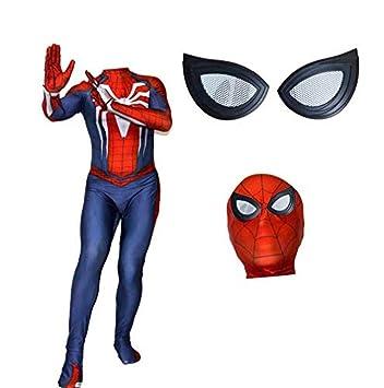 Disfraz de Spiderman Niño Adulto Halloween Cosplay ...