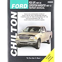 Chilton Total Car Care Ford F-150 ('97-'03), F-150 Heritage ('04), F-250 ('97-'99), Expedition ('97-'12) & Lincoln Navigator ('98-'12) Repair Manual (Chilton's Total Car Care)